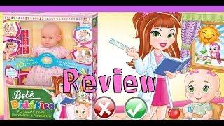 Review de Brinquedos - Boneca bebê didático - brinquedos educativos para bebê