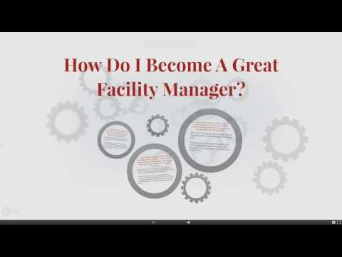 How to become a great Facility Manager