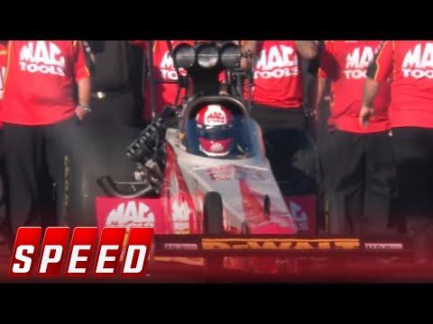 Leah Pritchett vs. Doug Kalitta – Pomona Top Fuel Final | NHRA 2017