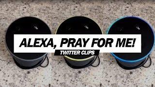 Alexa, My Morning Prayer... | My Aunt Asked Alexa to Pray! (Viral Video)