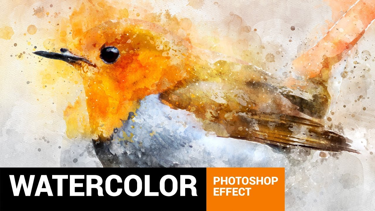 Perfectum 2 Watercolor Artist Photoshop Action Tutorial Youtube