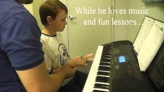 ABA Piano Lessons - for students with Autism and other special needs