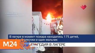"""Смотреть видео """"Москва и мир"""": холода после жары и трагедия в лагере - Москва 24 онлайн"""
