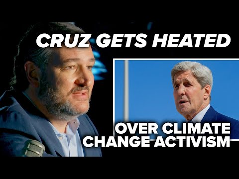 IT'S GETTING HOT IN HERE: Cruz gets heated over climate change activism