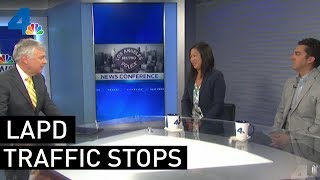 Investigating LAPD's Metro Traffic Stops | NEWSCONFERENCE | NBCLA
