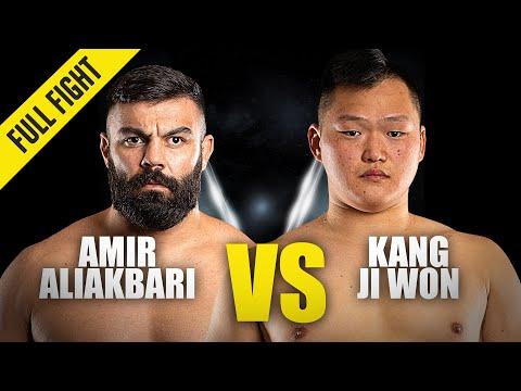 Amir Aliakbari vs. Kang Ji Won | ONE Championship Full Fight