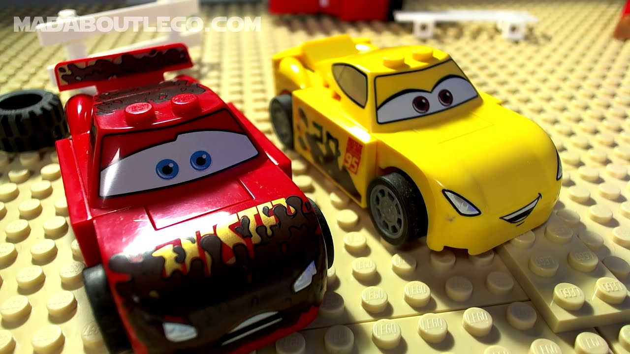 Lego Cars 3 Crazy 8 Demolition Race Mini Movie Youtube