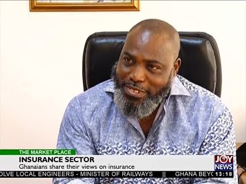 Insurance Sector - The Market Place on Joy News (7-12-17)