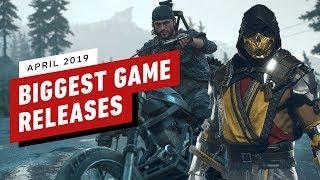 The Biggest Games of April 2019