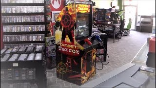 Target Terror Gold Dedicated Arcade Game from Raw Thrills !