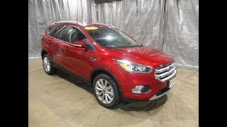 2018 Ford Escape Titanium Ruby Red AFT4043 Motor Inn Auto Group