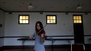 Trina's Violin Progress -Song bits of Lindsey Stirling