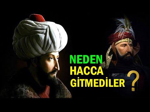 Osmanlı Padişahları Neden  HACCA GİTMEDİ? (Osmanlı Halifeleri)