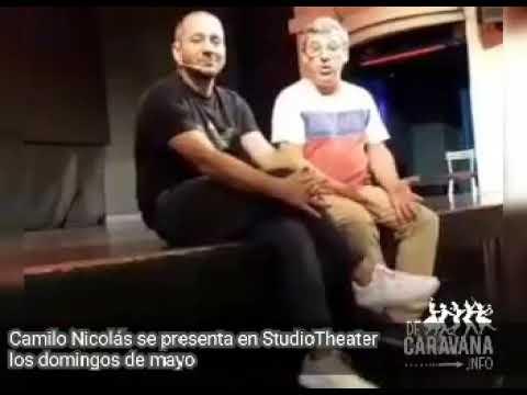 CAMILO NICOLÁS EN STUDIO THEATER LOS DOMINGO DE MAYO