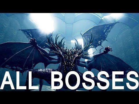 Dark Souls: All Bosses (4K 60fps)