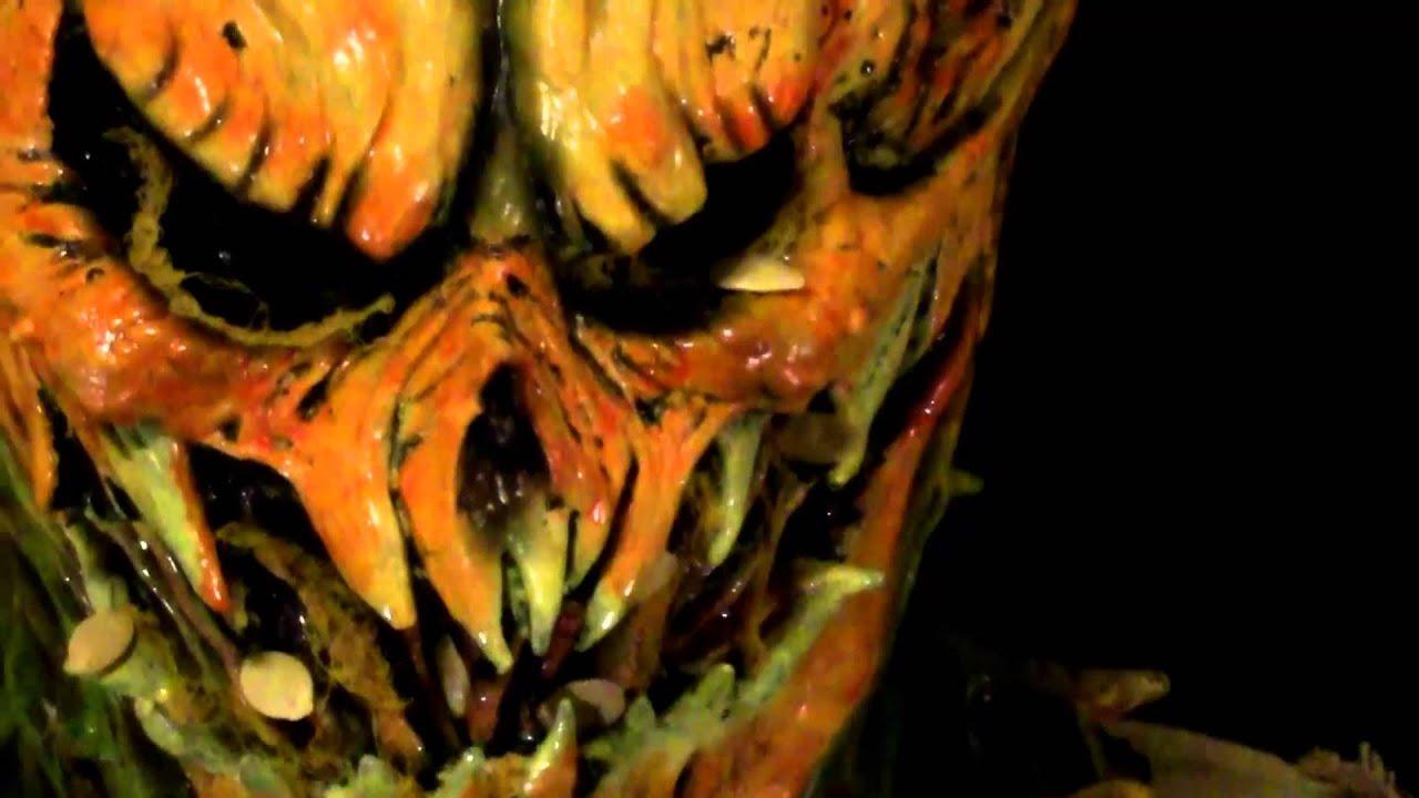 Jack O Lantern Jack O Lantern Monster Deluxe Full Latex Halloween Costume
