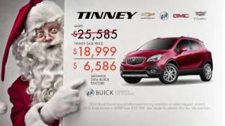 Buick Holiday Sales Event Current Offers Lease and Specials on 2016 Buick Encore
