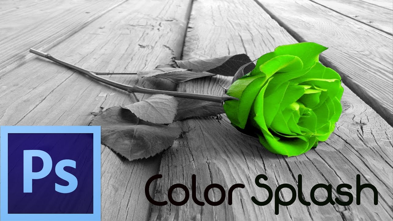 Photoshop Cs6 Tutorial Color Splash Effect For Beginners Youtube