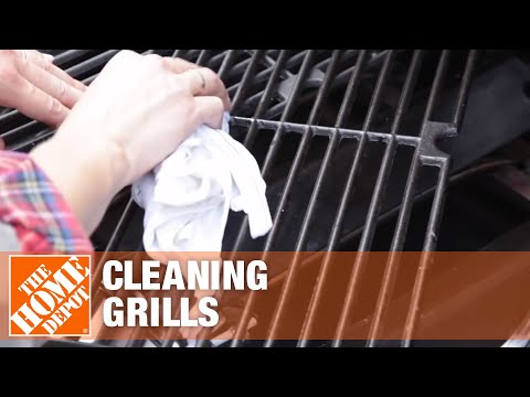 Fall Cleanup and Preparation: Project 5 - Cleaning Grills