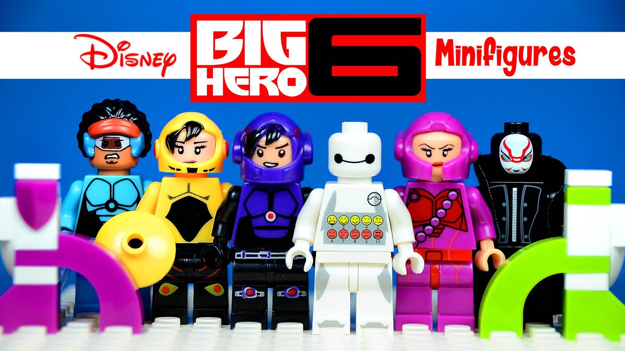 The BEST Big Hero 6 LEGO KnockOff Minifigures Youll EVER See So Far