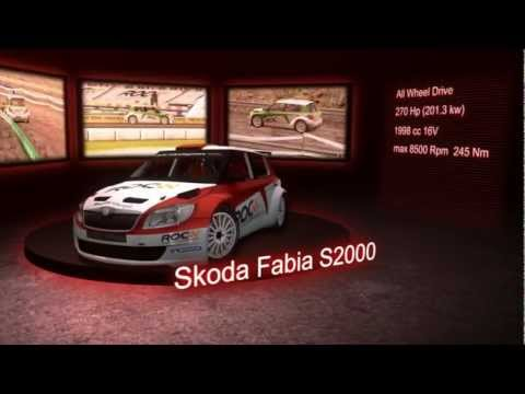 Race of Champions - The Official Game - Skoda Fabia S2000, VW Polo R & Barcelona Trailer