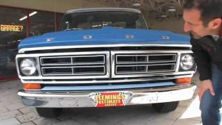 1972 Ranger XLT Pickup for sale with test drive, driving sounds, and walk through video
