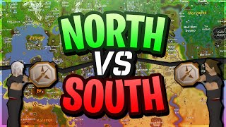 OSRS Challenges: North vs South - EP.156