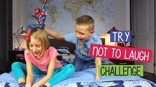 Try Not To Laugh Challenge | Kids Playing