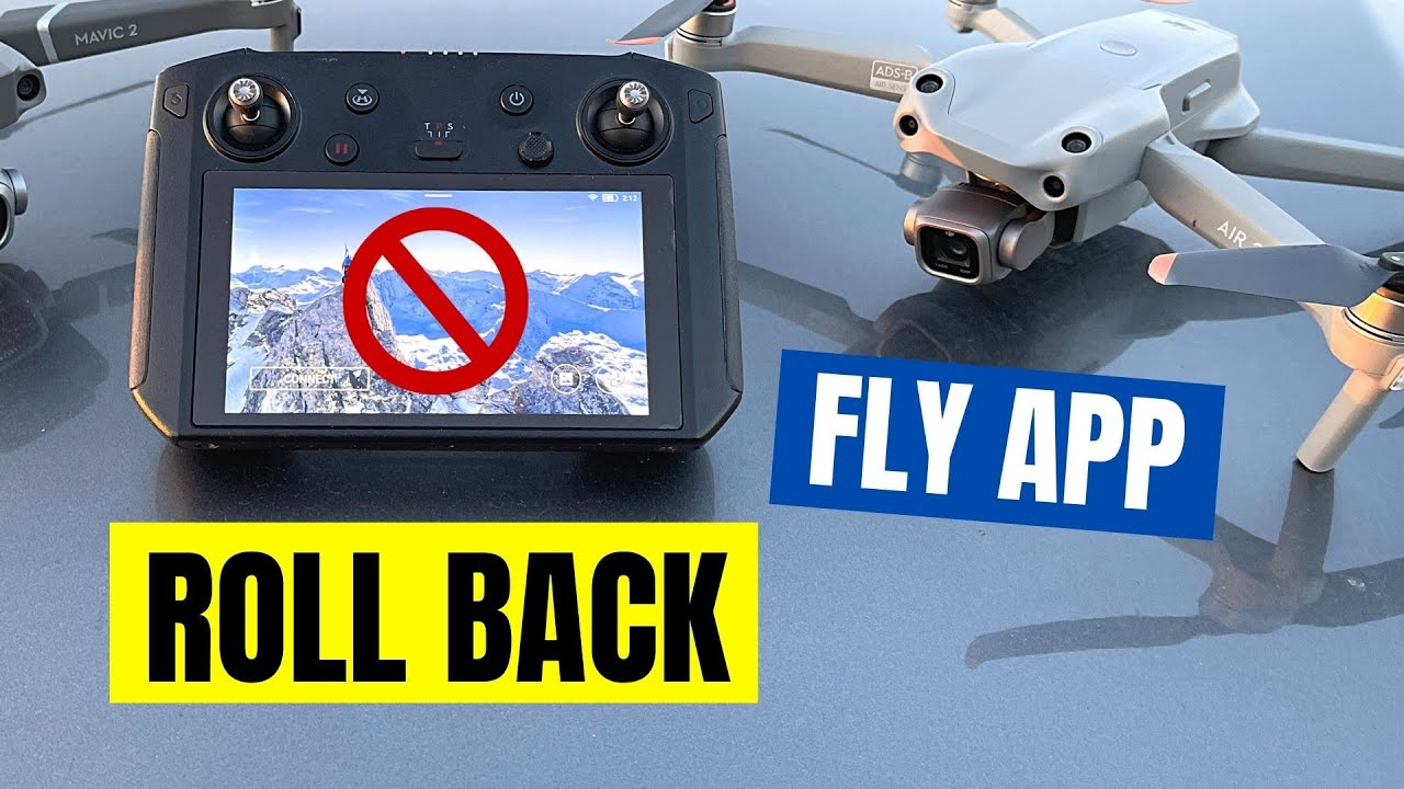 How To Roll Back DJI FLY App 1.4.2 to 1.4.0 on DJI Smart Controller