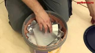 Укладка массивной доски на фанеру  Выравнивание Uzin(Купить напольные покрытия можно в магазине http://a-parket.com/, 2015-03-29T08:07:01.000Z)