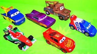 Машинки Тачки - Молния Маквин. Мультики с игрушками плеймобил про машинки. Видео для детей 2020