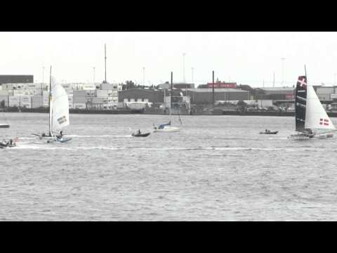 Trifork v Rahm Racing - M32 Match Racing Exhibition Copenhagen
