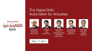 De-risking the Risk Business webinar series - The Digital Shift: Automation for Actuaries