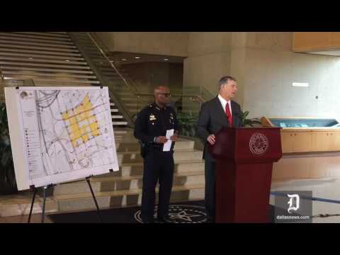 Dallas Police Shooting Aftermath Press Conference