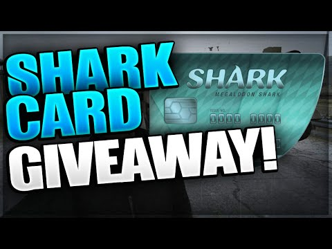 megalodon shark card giveaway