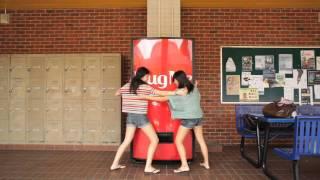 Coke Hug Machine