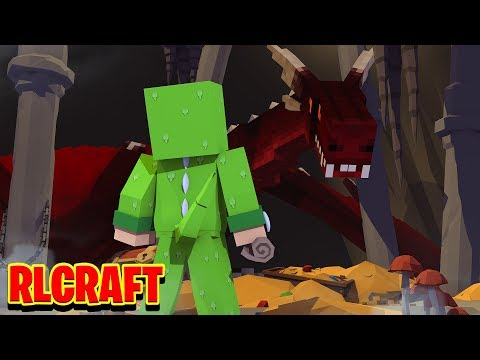 I found the BIGGEST DRAGON CAVE! (RLcraft #6)