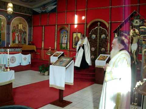 Maya's Russian Orthodox baptism 10_11_09 Take 2