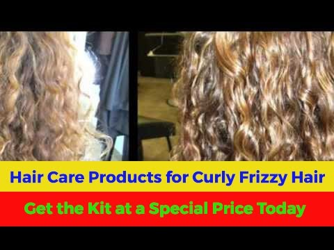 Hair Care Products for Curly Frizzy Hair