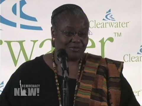 Dr. Bernice Johnson Reagon on Pete Seeger Democracy Now 5/4/09 5 of 15