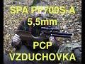 Vzduchová pistole SPA PP700S-A 5,5mm