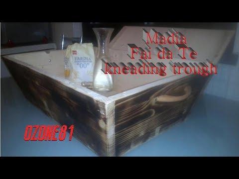 Madia In Legno Fai Da Te Kneading Trough Youtube