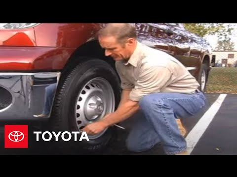 Tundra How To Tire Pressure Monitor System Tpms 2007
