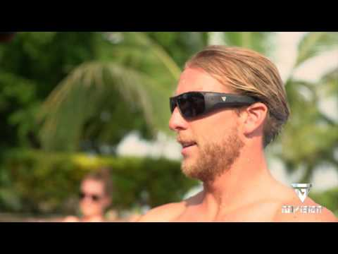 """4d6670013c A simple touch of the record button will begin your """"World of Water"""" video  recording where ever your eyes take it. The inside of the sunglasses has a  light ..."""