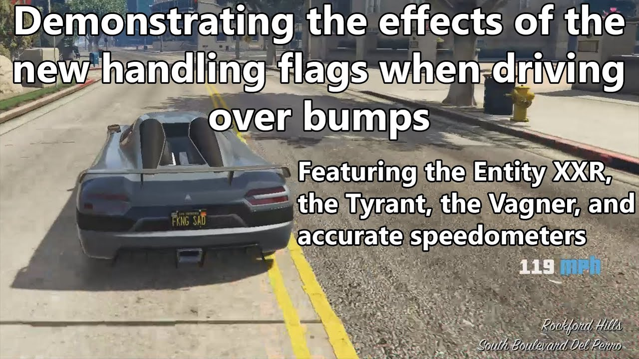 Gta Online Showing You Probably The Biggest Issue With The New Cars
