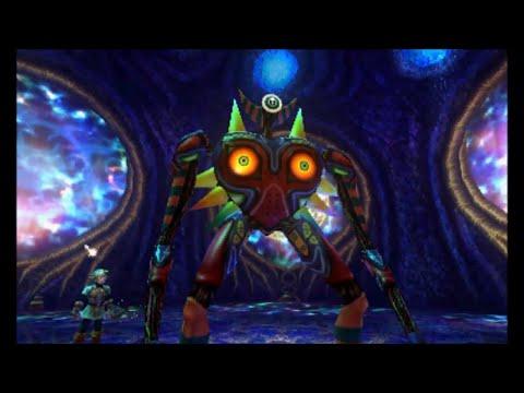 The Legend Of Zelda: Majora's Mask 3D - All Boss Battles