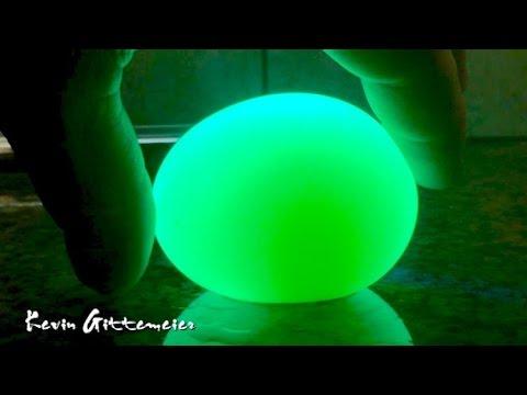 Glowing Vinegar Egg Experiment Youtube