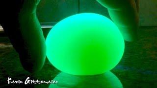 Glowing Vinegar Egg Experiment