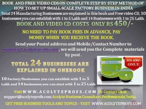 How To Start Small Medium Scale Business In India In India And Indian Video Tutorial Wmv