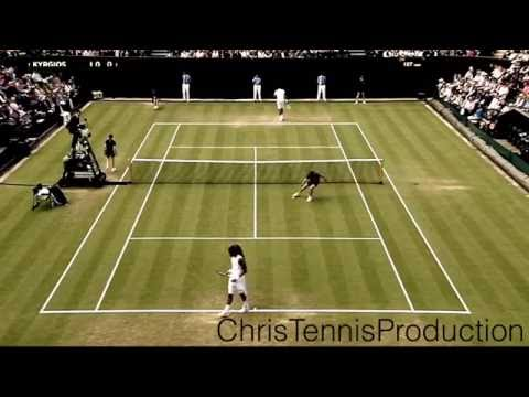 Nick Kyrgios vs Dustin Brown - Wimbledon 2016 Highlights [HD]